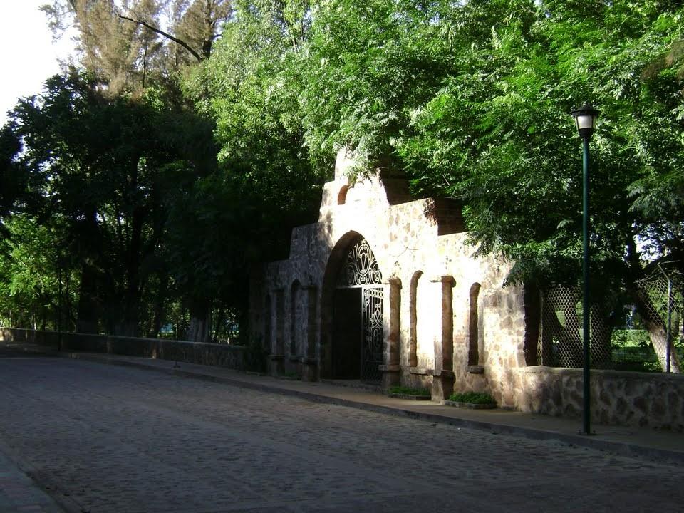Entrada al parque ecológico de Acatic